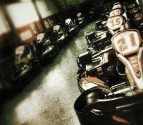 Dromokart divertimento con motori Honda 270 per grandi e piccini