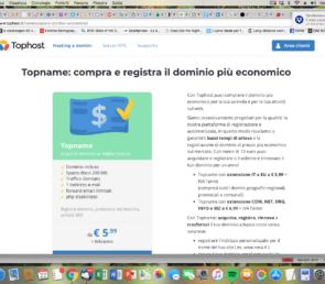 #sfidatophost: hosting e dominio a costi contenuti